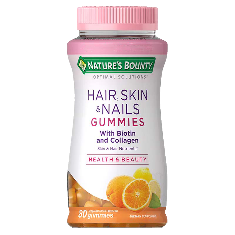Hair, Skin & Nails + Collagen Gummies
