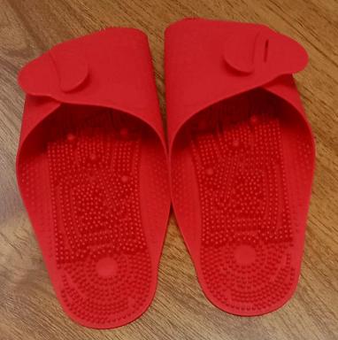 Travel Korea adult children home slippers portable plastic bathroom non-slip massage folding slippers