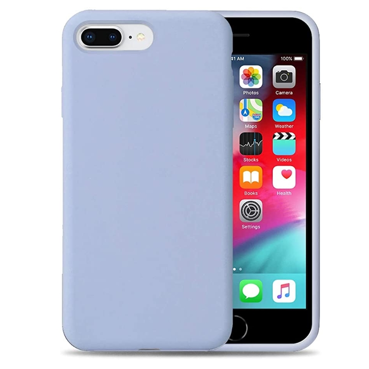 Popular logo is suitable for iPhone SE 2 with liquid silica gel