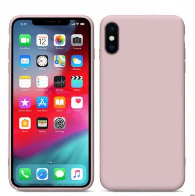 适用于液态硅胶手机壳iPhone SE 2全面防摔xs max 桥头直销7/8