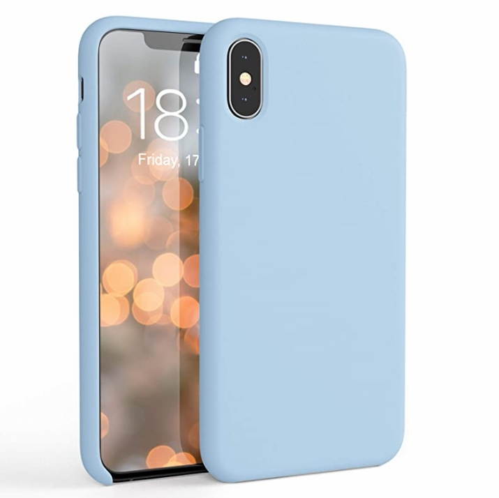 Hot style color skin sense mobile case is suitable for iphone11/11 pro liquid silicone factory direct selling