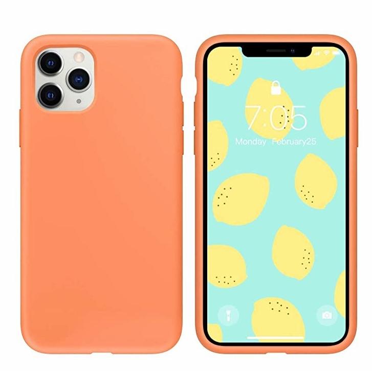 爆款手机壳适用于iphone11液态硅胶 软壳防护promax 桥头直销