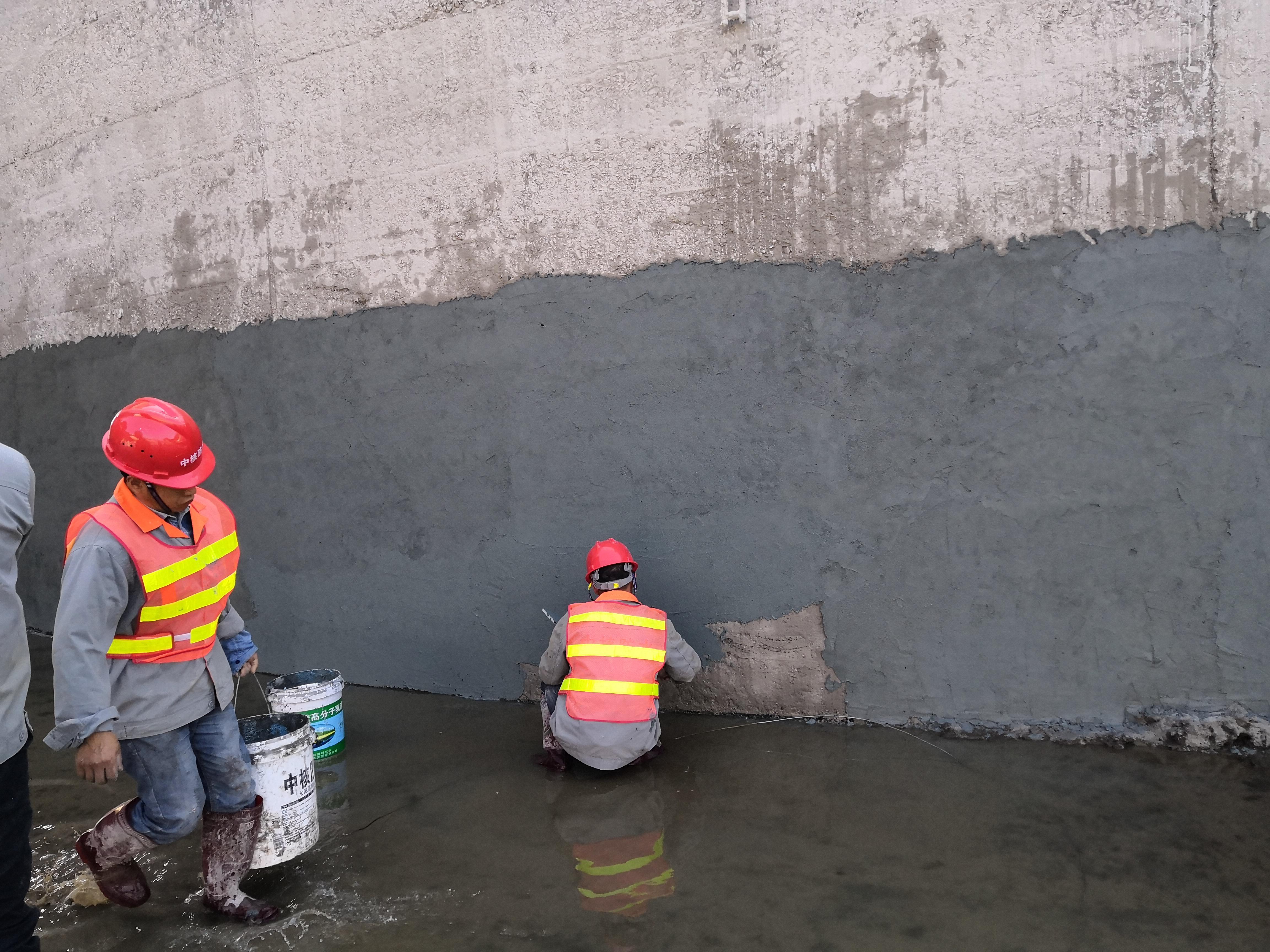 北京雨全防水公司施工蓄水池防水堵漏工程